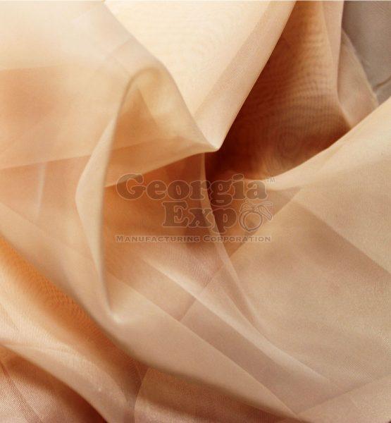 sheer blush drape