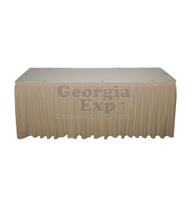 beige poly premier skirting