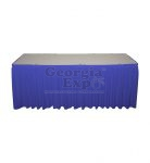 expo blue poly premier skirting