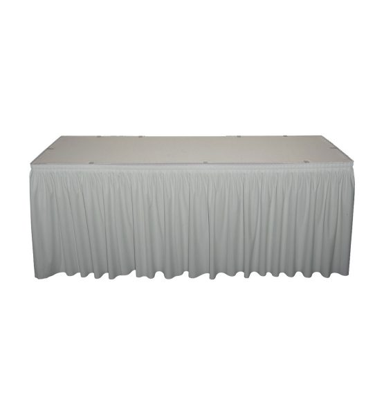 silver poly premier skirting