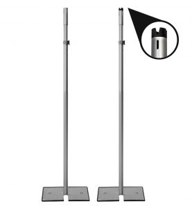 1.5 in telescoping uprights