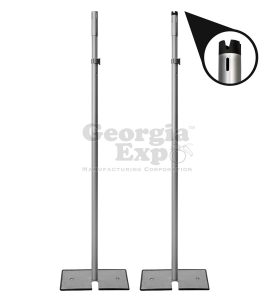 7 to 12 foots 1.5 in telescoping uprights