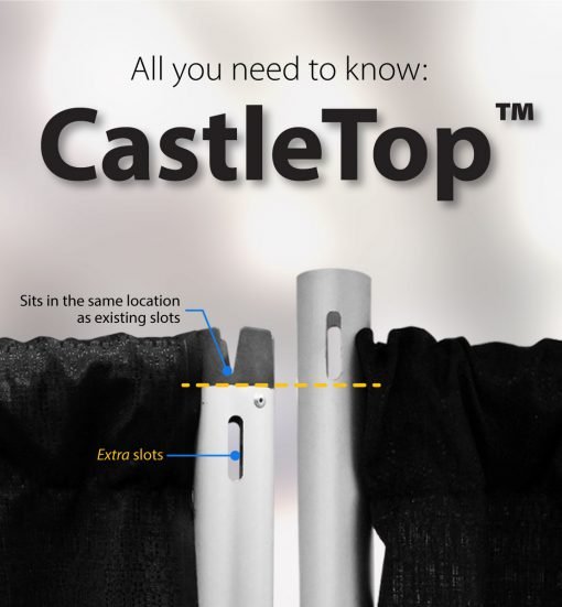 Castle Top Equal Height