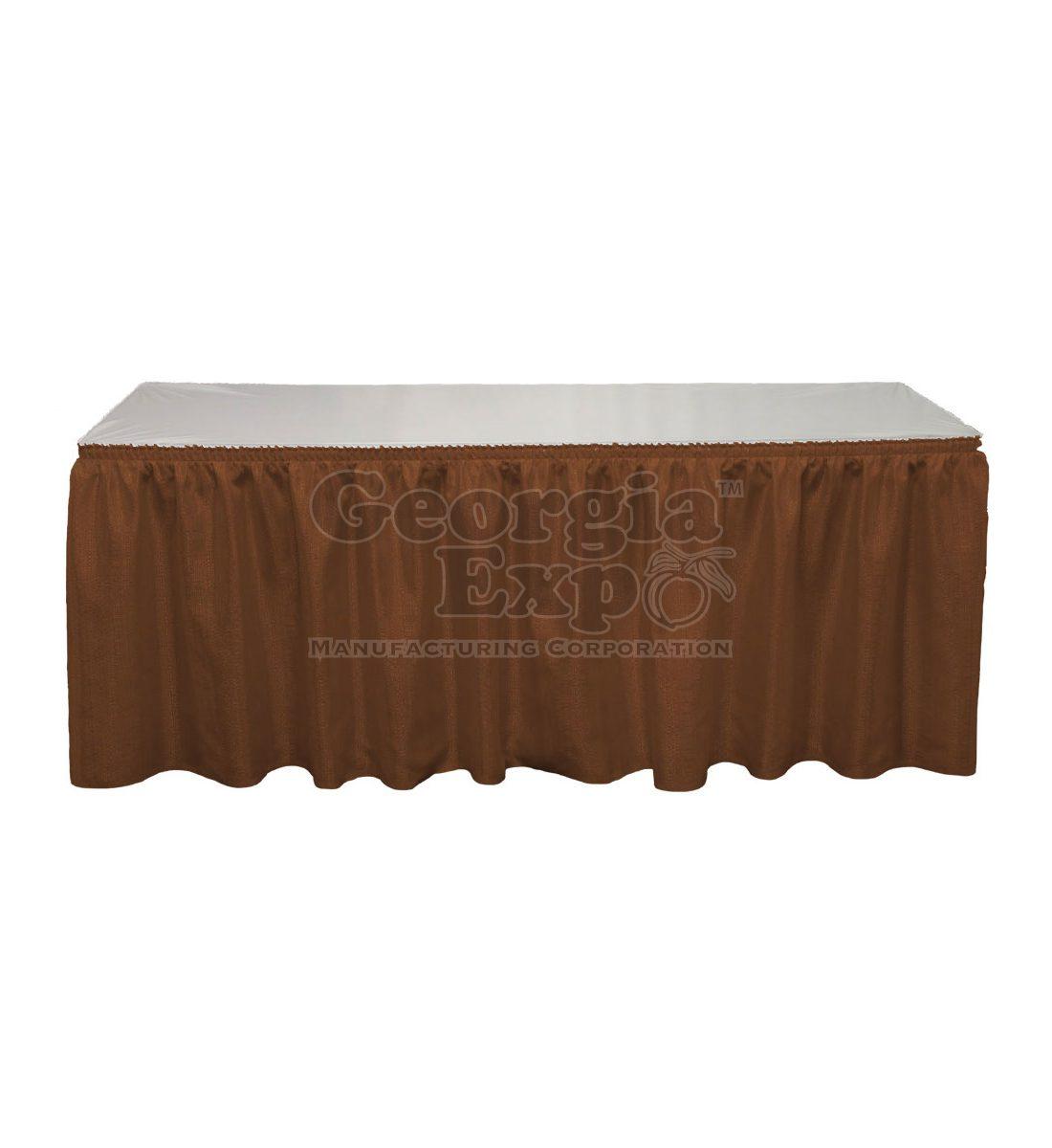 Banjo table skirting table skirting georgia expo - Bordure aluminium jardin leroy merlin creteil ...