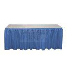 royal blue Banjo table skirting