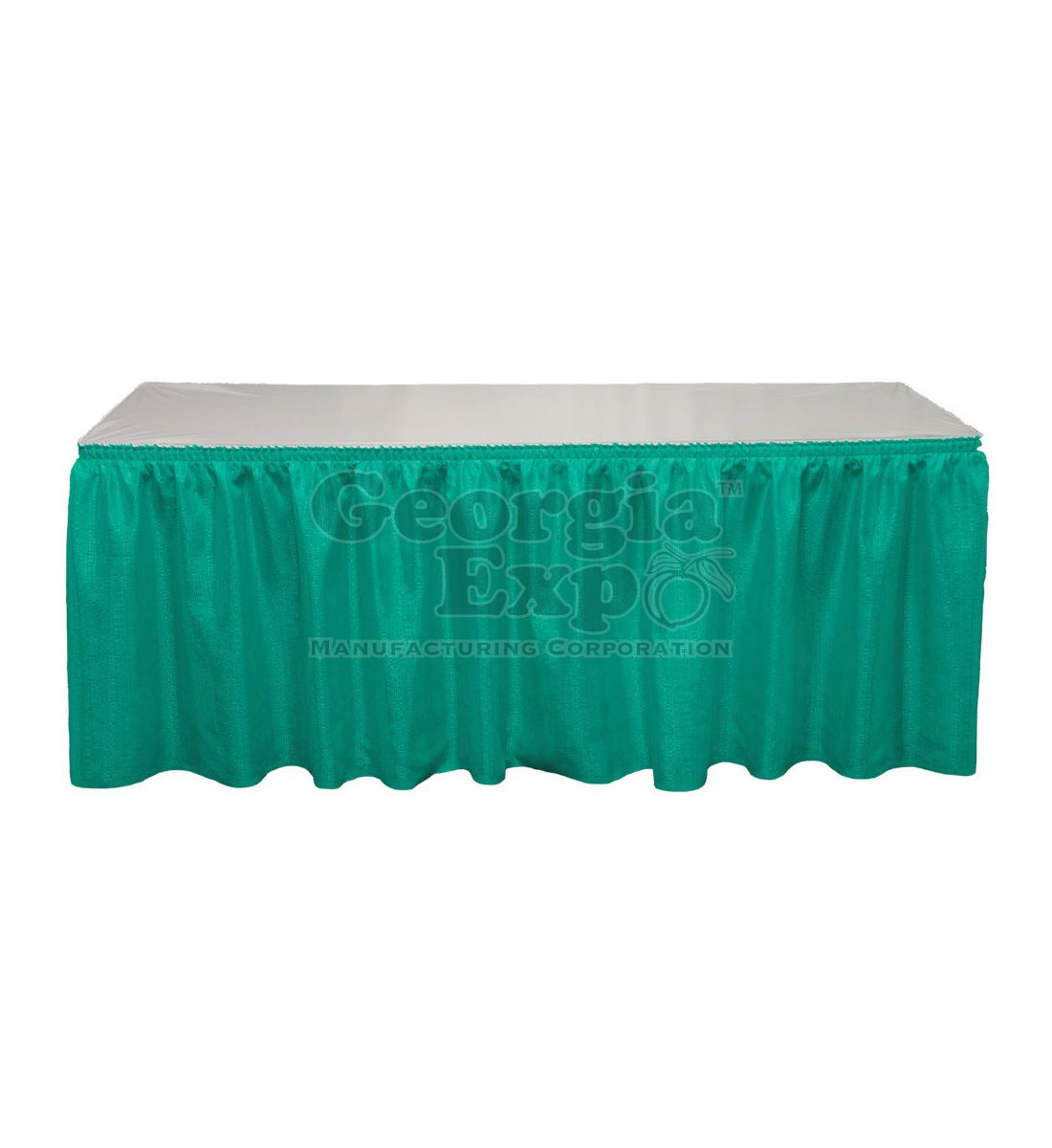 Shirred Pleat Table Skirting | Pleated Table Skirt
