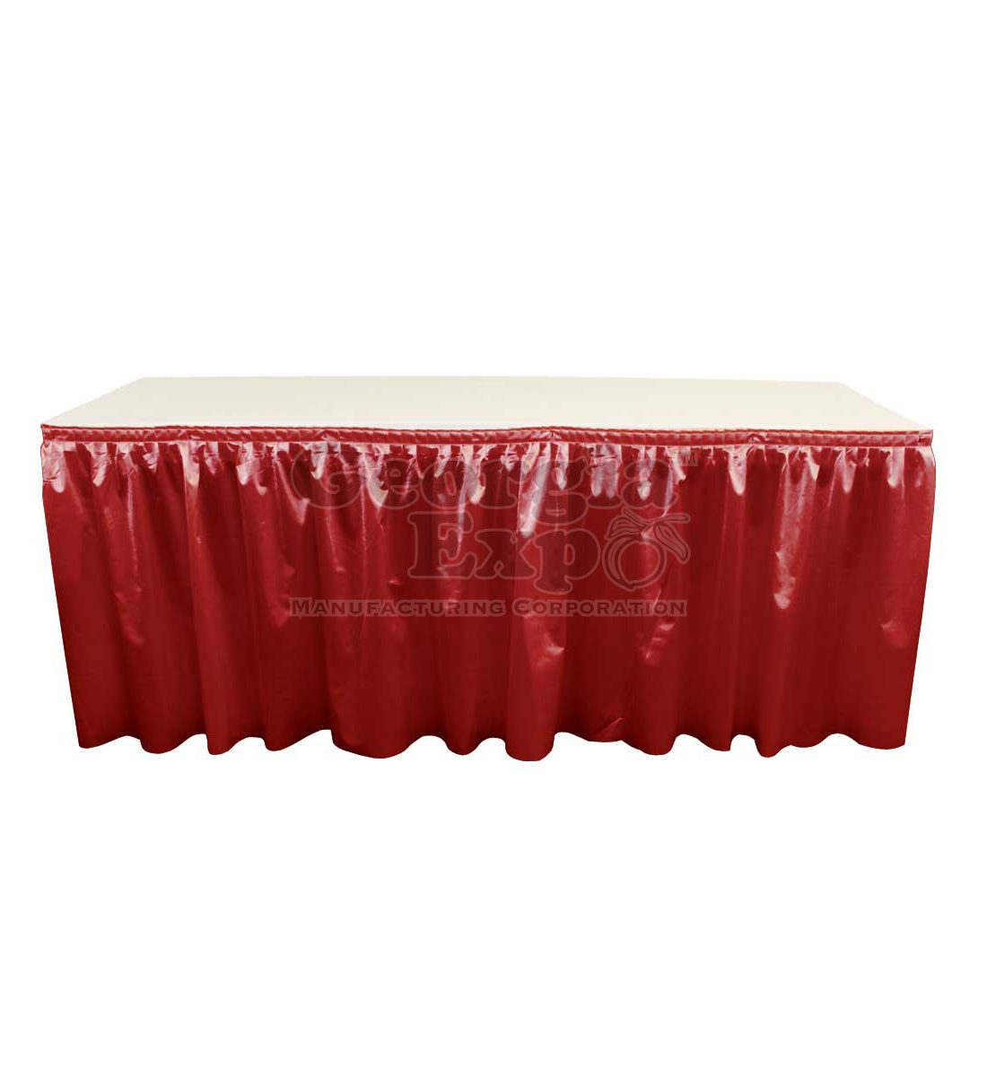 Poly Knit Table Skirting
