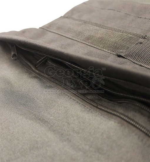 saddle sandbag close up