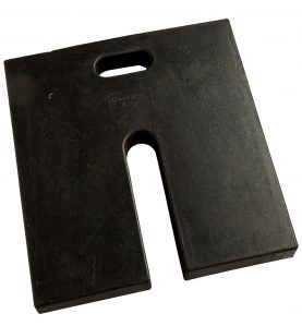 rubber base weight