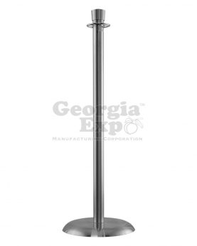 lobby stanchion polished chrome