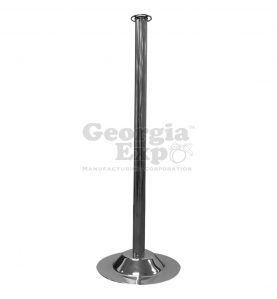 economy stanchion polished chrome
