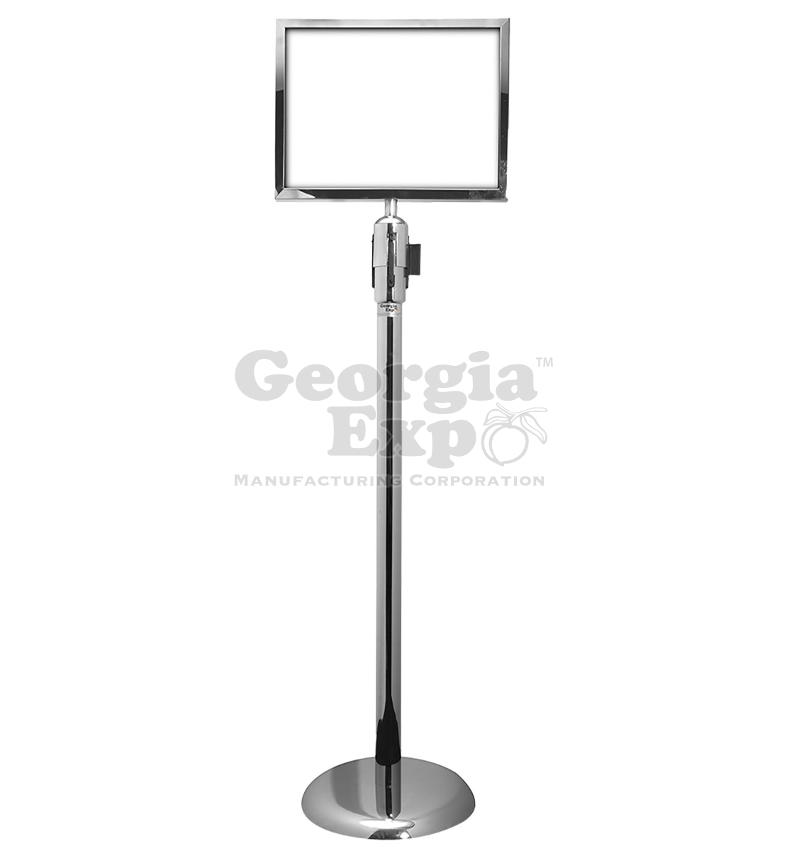 sign holders worship church equipment stanchion parts and