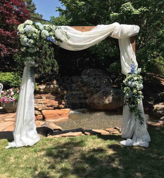 Sheer Arbor Wedding