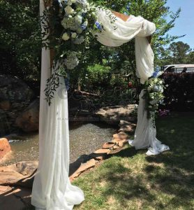 Sheer Arbor Wedding