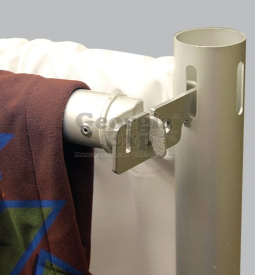 valance hanger in use