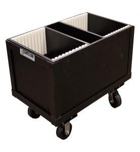 base box with wheels