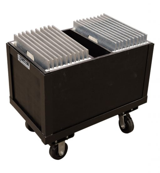 base box with casters