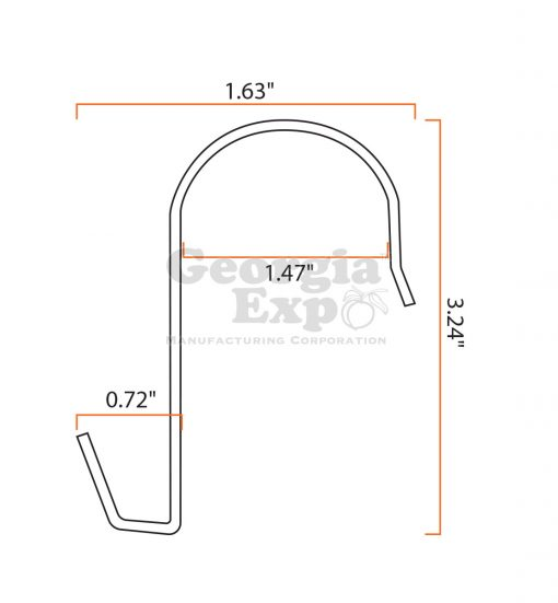 B705 Small Sign Hook