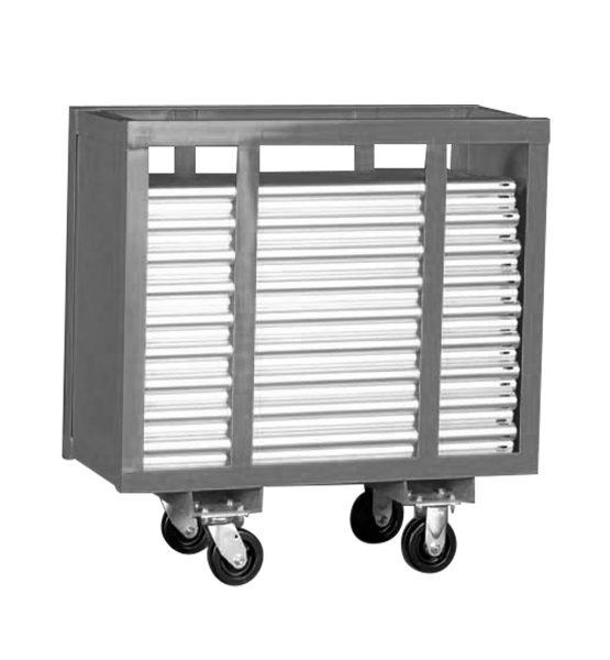three foot upright cart