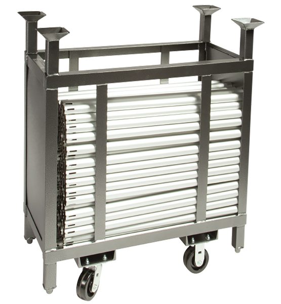 3ft pipe cart