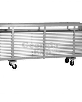 8 foot pipe cart