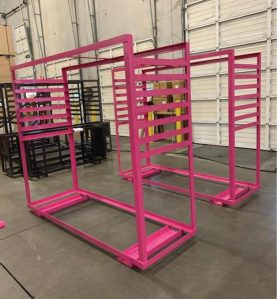 Drape Tele Cart pink
