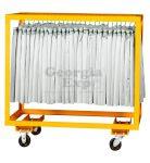 single hanger cart table skirts orange