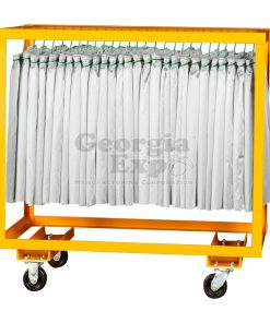 single hanger cart table skirts orange