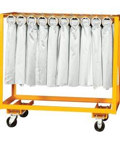 single rolled skirt cart orange