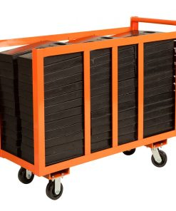 base weight cart orange