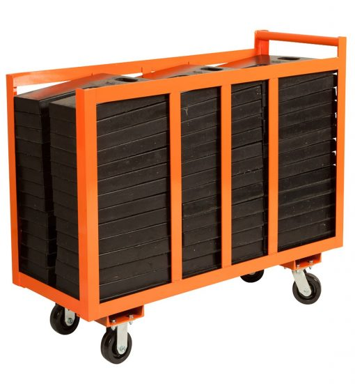base weight cart orange
