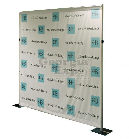 wedding company backdrop