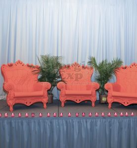 Stage Skirting In Use