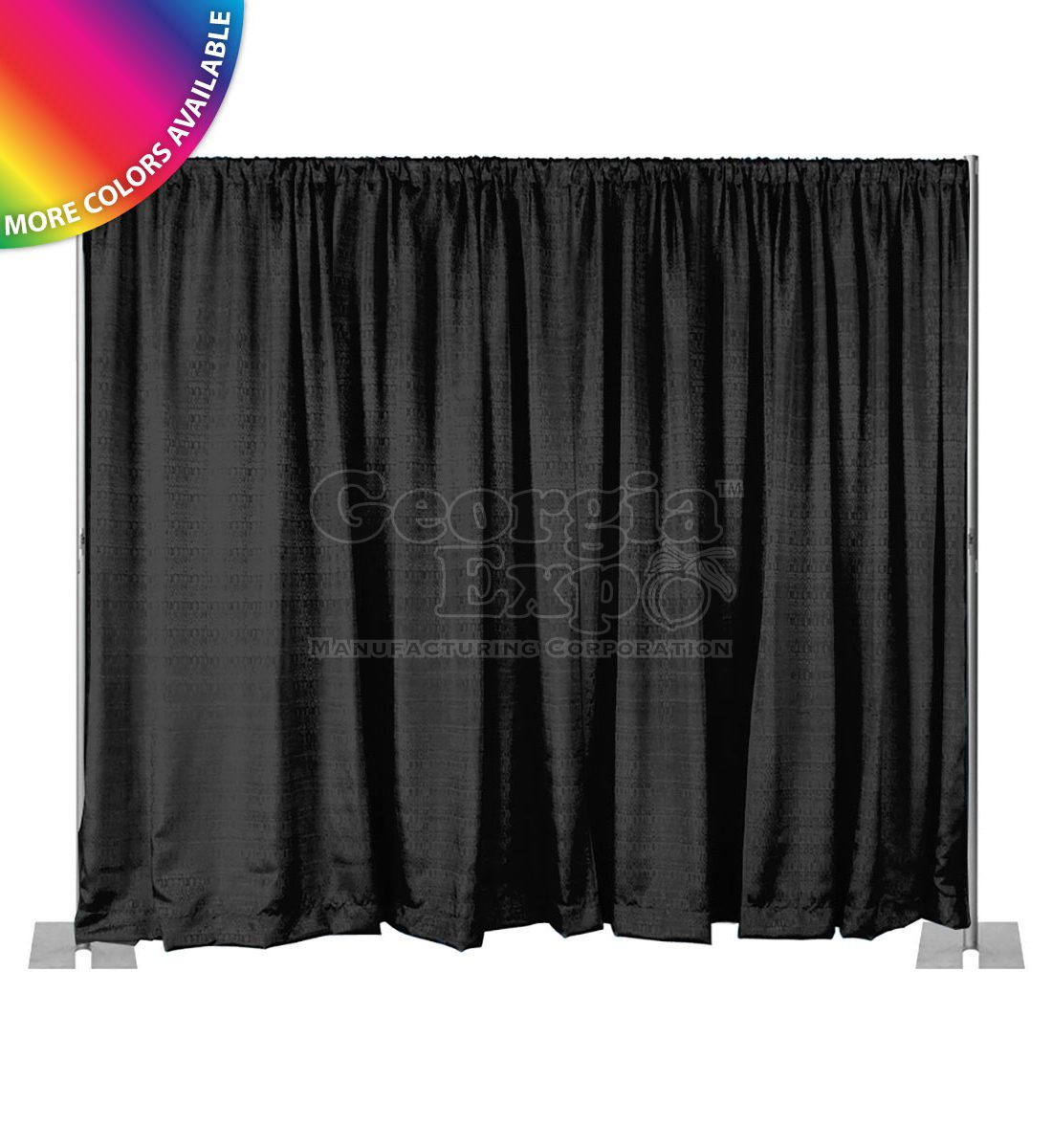 only kit cross base fixed portable drapes support fold backdrop and quick product pipe pins hardware upright drape break apart height