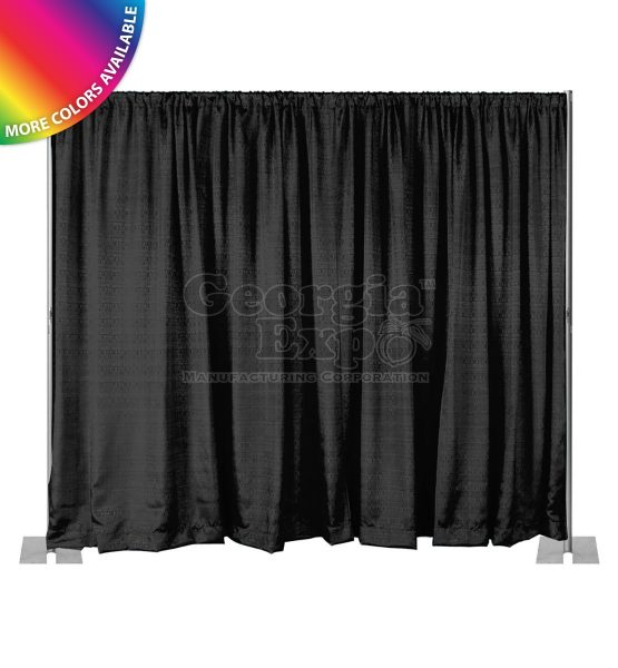 black back wall kit 8 feet adjustable height