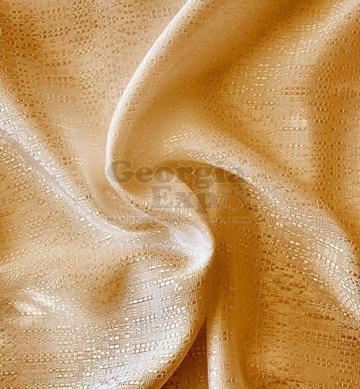 Gold banjo drape