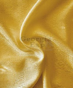 Yellow banjo drape