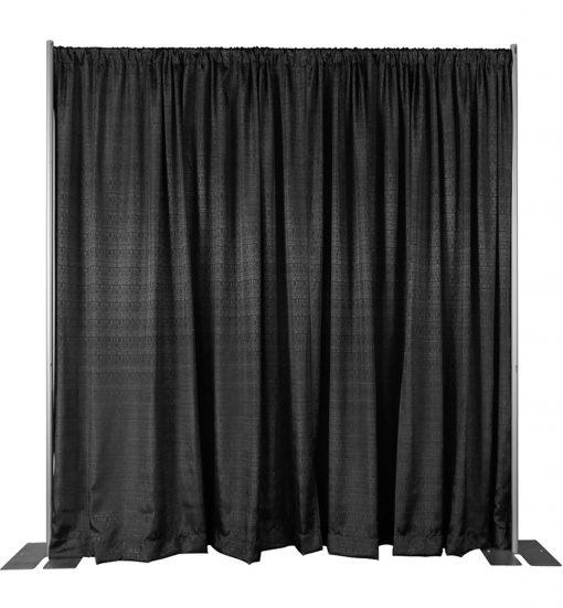 black back wall kit 8 feet adjustable height