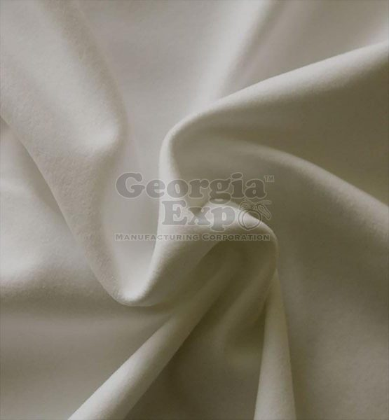 Pearlescent Ivory performance velour