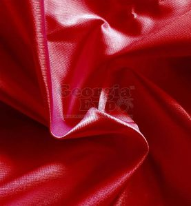 Poly Knit Drape red