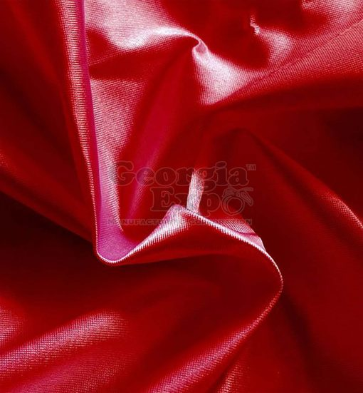 Poly Knit Drape red