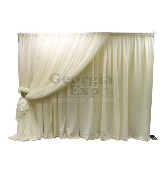 7 in 1 designer kit for wedding backdrop white sheer