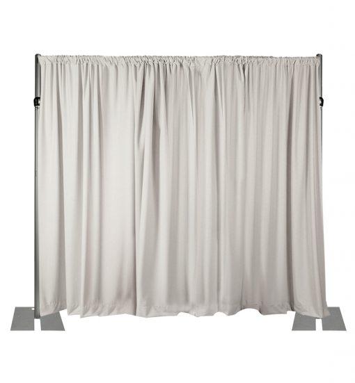 white back wall kit 10 feet adjustable height