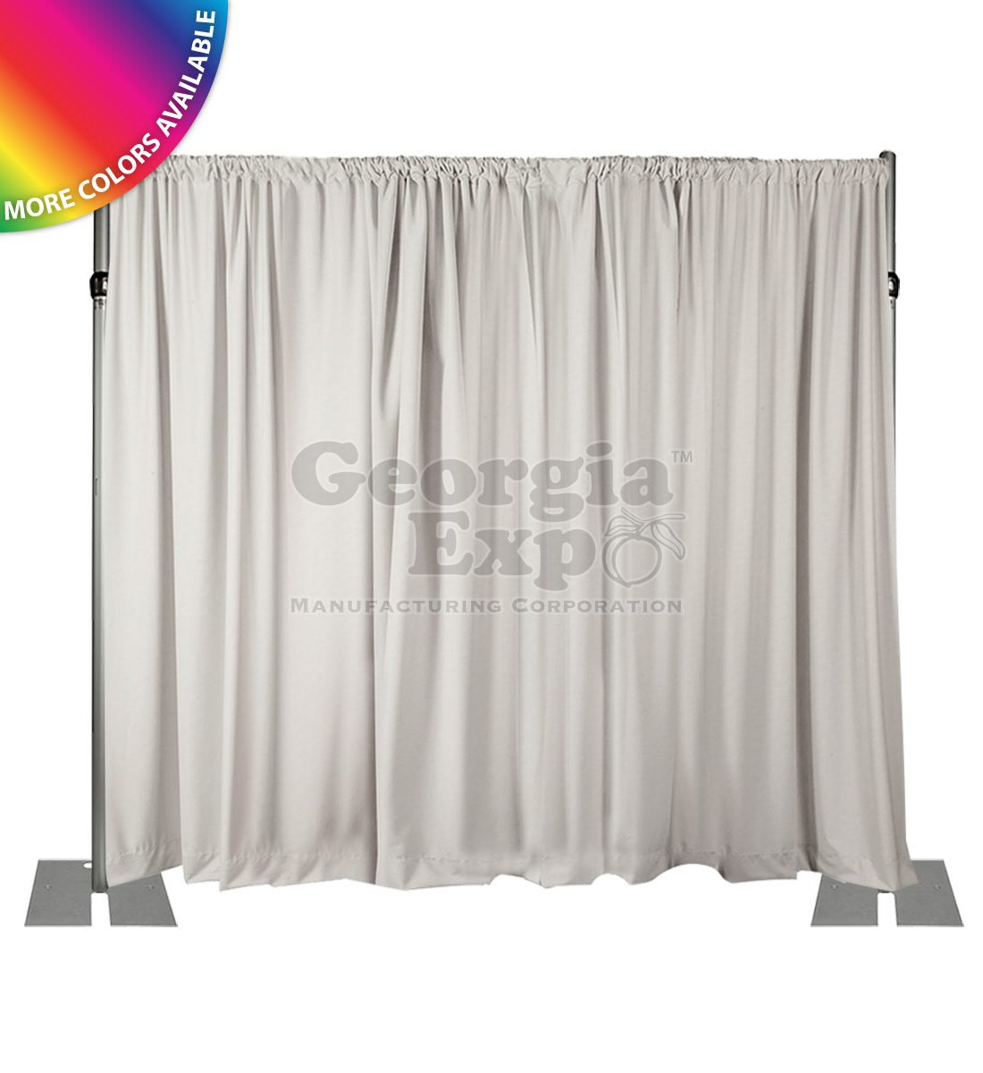 and drapes booth by star silver image wholesale for displays double pipe drape kit sale