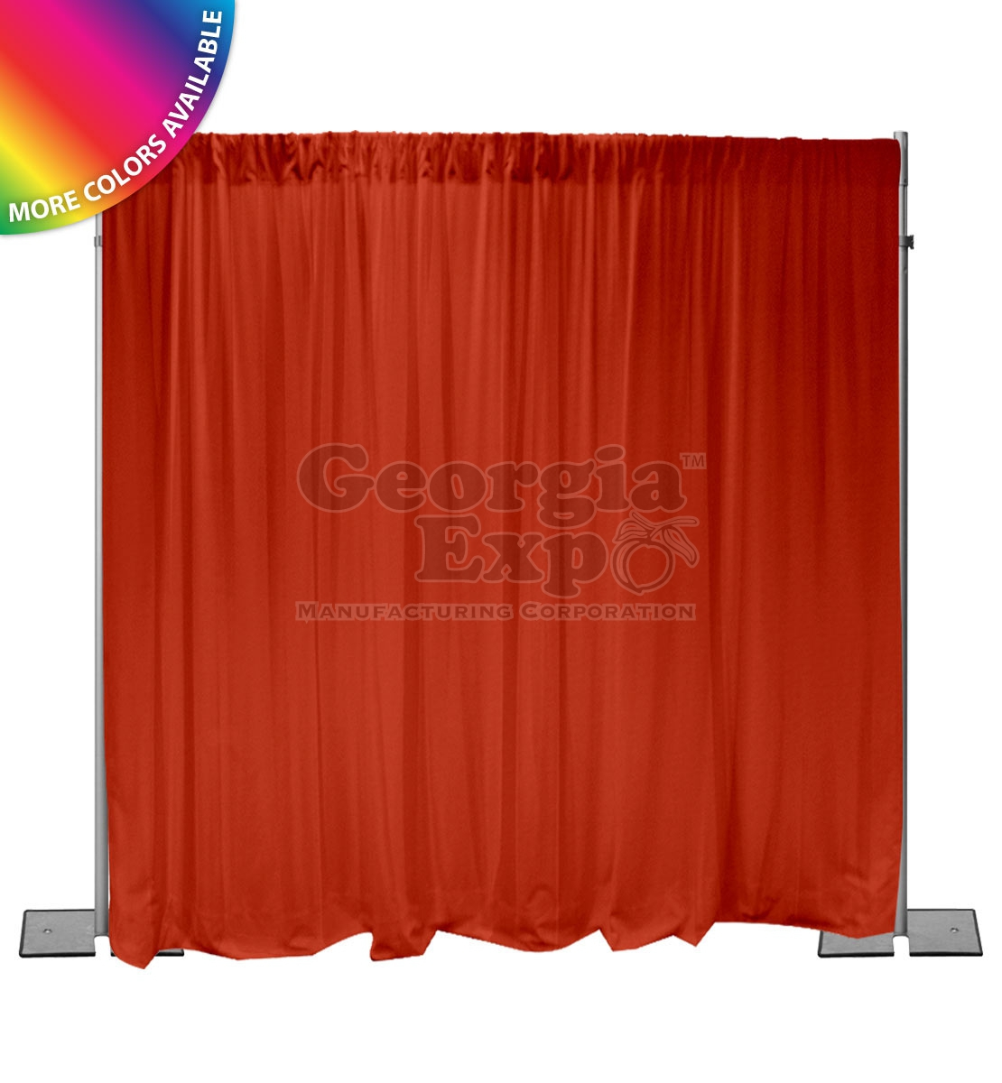 Pipe And Drape Backdrop Kit 10ft Lcb Light Duty
