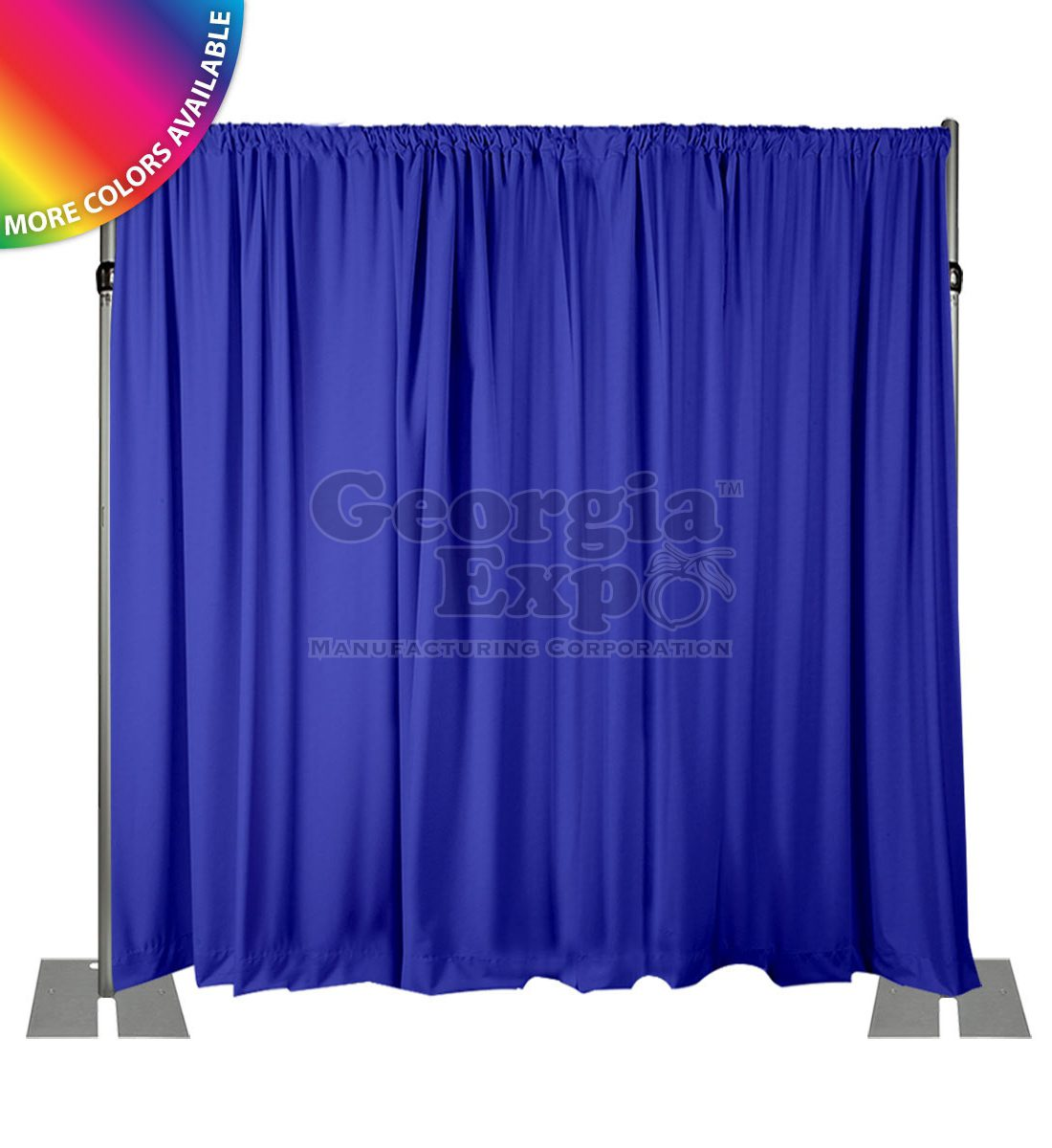 pipe unnecessary diy x wide is ft l high economy kit drapes drape pipes sometimes and with