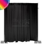 black back wall kit 12 feet adjustable height