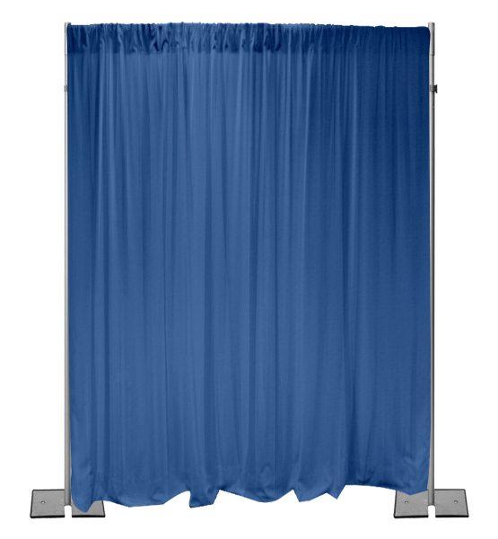 blue back wall kit 14 feet adjustable height