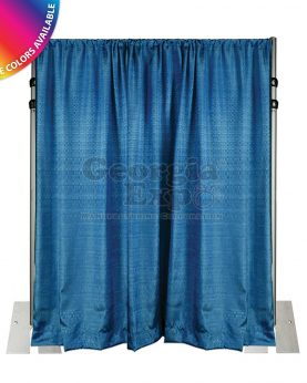 blue banjo drape wall 14 feet adjustable height kit