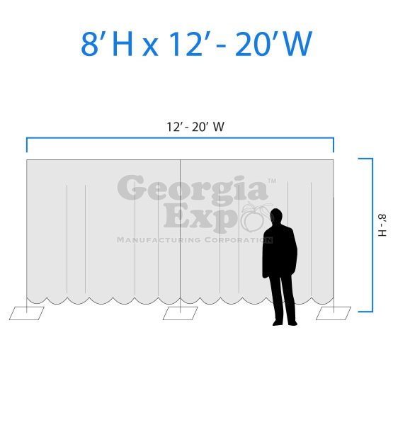 drape wall diagram